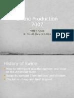 2007 Swine Production Medicine