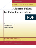 Paleologu, Benesty, Ciochina_10 Sparse Adaptive Filters for Echo Cancellation