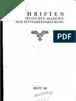 Prandtl, Busemann- Kompressibilität - LuFo Heft 30