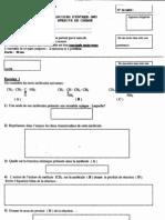 Version Fr concours accées  facultés medecine epreuve نمودج موضوع مبارة ولوج كلية الطب و الصيدلة