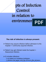 Concepts of Infection Control