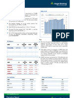 Derivatives Report, 31st May 2013