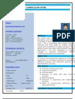 CV of Kumar Karki - 2013
