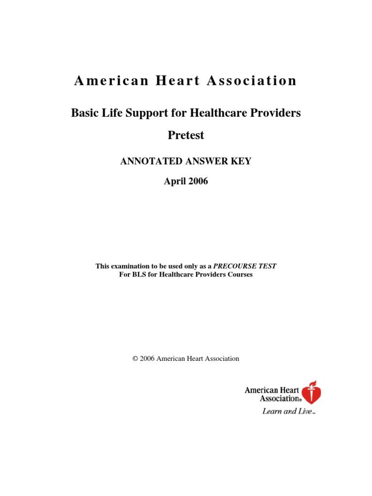 Bls answer key cardiopulmonary resuscitation cardiac arrest xflitez Image collections