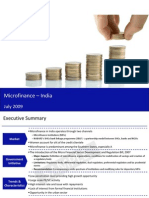 Sample Guide to Microfinance India