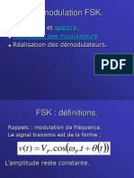 Les Modulations FSK