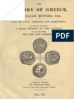 The History of Greece, VOL 7 - William Mitford (1808)