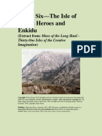 Island Six - Isle of Sports Heroes and Enkidu (sample chapter from Muse of the Long Haul)