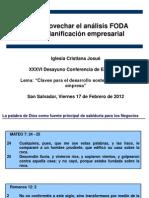 Presentacion de FODA2012