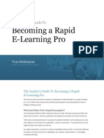 Insiders Guide to Becoming a Rapid E-Learning Pro