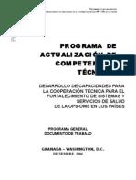 Programa EASP-OPS Marzo 2009