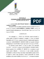 Referatul procurorilor DNA - Cazul Sorin Alexandrescu