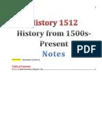 History 1512 (5-21-13)