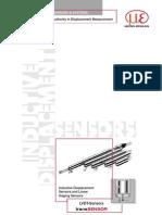 LVDT Displacement Sensors
