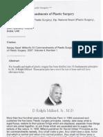 Dr Saraf Paper Millard's 33 Commandments of Plastic Surgery