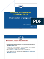 Pp Submission of Proposals