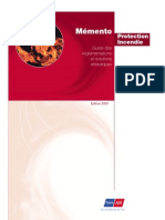 Memento Protection Incendie