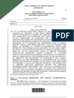 NC Senate Bill 612v3