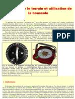 Mesures Sur Le Terrain Et Utilisation de La Boussole