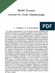 Michel Foucault - Reponse Cercle Epistemologie.pdf