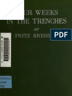 WWI Four Weeks in the Trenches, The War Story of a Violinist - Fritz Kreisler (1915)