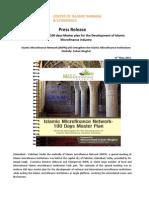 Press ReleaseIslamic Microfinance Network (IMFN)