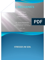 Lecture (5)_Soil Mechanics Lecture_Stresses