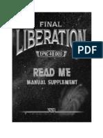 Final Liberation Warhammer EPIC 40,000