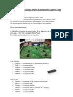 Tecnologías de fabricación y familias de componentes  digitales en CI