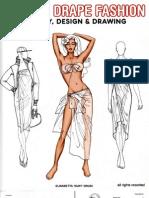 Wrap Drape Fashion Design