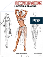 Wrap Drape Fashion Design