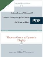 Thomas Green at Dynamic Display