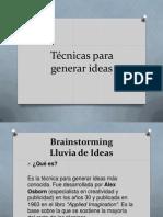 Generar Ideas