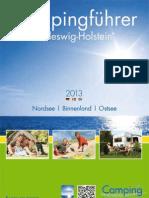 Campingführer Schleswig-Holstein 2013