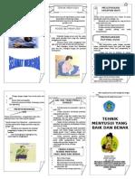Leaflet. Teknik Menyusui (Dewi L)
