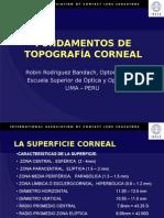 FUNDAMENTOS DE TOPOGRAFÍA CORNEAL