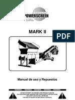MK II Operación y Mantención (Español)