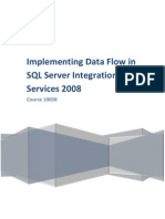 Course 10058 - Implementing Data Flow in SQL Server Integration Services 2008