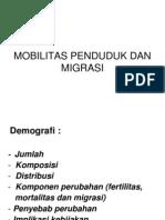 Mobilitas Penduduk Dan Migrasi