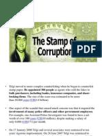 stamp of corruption