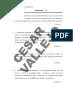SOLUCIONARIO DOMICILIARIAS DEL BOLETIN 01 DE GEOGRAFIA-ANUAL CÉSAR VALLEJO