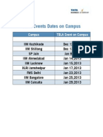 TBLA Events on Campus
