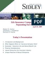 Sidley Life Insurance Company Failures