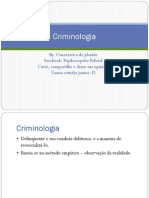 Destrinchando Criminologia