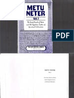 Metu Neter Volume 1 by Ra Un Amen Nefer