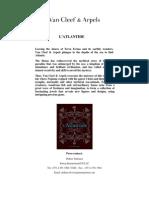 L'Atlantide Van Cleef e Arpels (English)