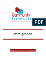 Community Conversations Immigration Toolkit