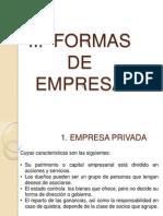 Formas de Empresa