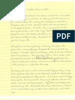 John Kiriakou Letter From Loretto 1