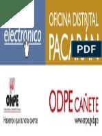 Oficina Distrital de Pacarán NEM 2013